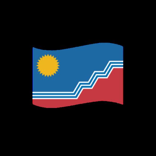 Emoji flag of Sioux Falls announcement